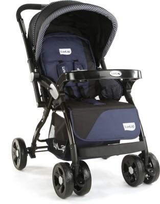 LuvLap Galaxy Stroller Pram - Black ( For babies upto 25 kgs) Stroller(3, Black)