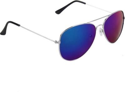Poloport Aviator Sunglasses(Blue)