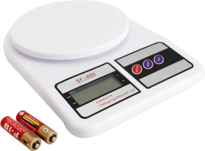 Tolo 10kg X 1g Electronic Kitchen scale Weighing Scale(White)
