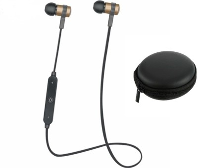 iZED Dual base Square Earphones supports all devices, ultra clear voice, high bass, trebble with 7 m of range. Bluetooth Headset with Mic(Black, In the Ear) 1