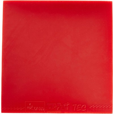 Stag Tec Hard 1.8 mm Table Tennis Rubber(Red)