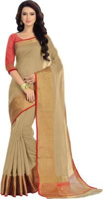 Saara Graphic Print, Plain, Striped, Printed Daily Wear Cotton, Silk Saree