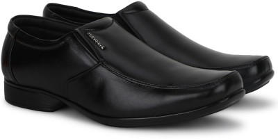 Provogue Genuine Leather SLIP-ON(Black)