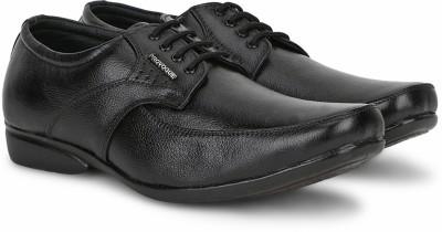Provogue Genuine Leather LACE-UP(Black) at flipkart