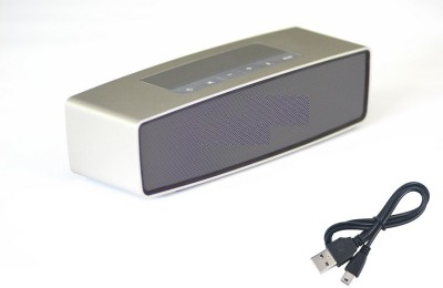Jiyanshi Vivo Portable Bluetooth Mobile/Tablet Speaker(Silver, Stereo Channel)