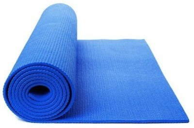 NATIONALSPORTS Yoga Mat For Exercise and Meditation (8 mm) Blue 8 mm Exercise & Gym, Yoga Mat
