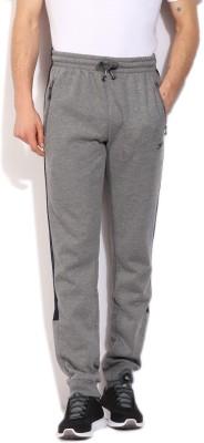Slazenger Solid Men's Grey, Blue Track Pants