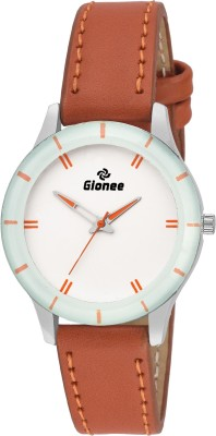 Gionee Round Analog White Round Dial Casual Watch  - For Girls