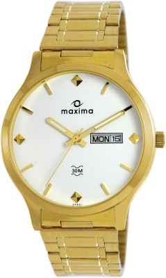 Maxima 39851CMGY Analog Watch  - For Men