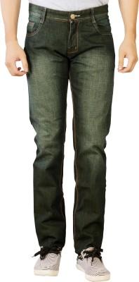 Par Excellence Slim Men's Dark Green Jeans