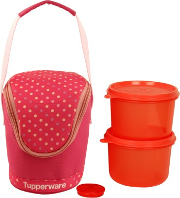 Tupperware 3lunchboxs 3 Containers Lunch Box(900 ml) at flipkart