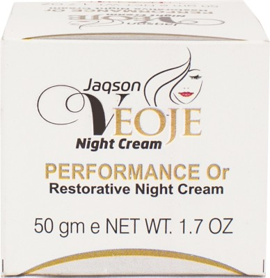 Veoje Anti Ageing Night Cream(50 g)  available at flipkart for Rs.119