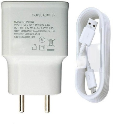 VOZC 2.0Amp SMG Fast Charging with USB Cable  1 Mtr  1 A Mobile Charger with Detachable Cable White