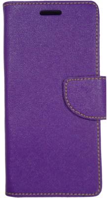 Gizmofreaks Flip Cover for Panasonic P81(Purple, Artificial Leather)