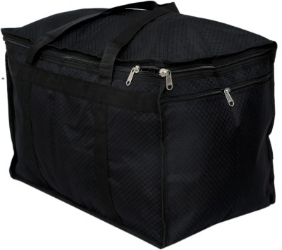 Kuber Industries Travel Duffle Luggage Bag Cum Attachi Bag  KI19134 Travel Duffel Bag Black