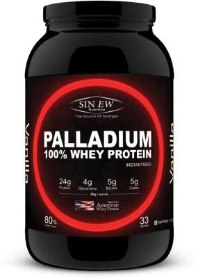 Sinew Nutrition Palladium 100% Whey Protein - 1 kg Whey Protein(1 kg, Vanilla)