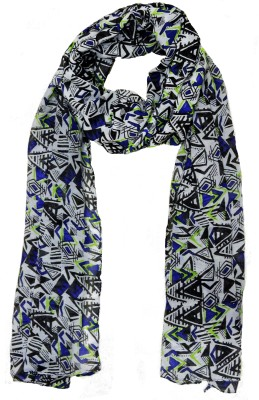 Weavers Villa Printed Trendy Scarf and Stoles Light Weight Premium Poly Cotton Girls Scarf