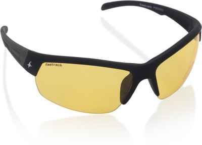 f2ce32f28227 FASTRACK P175BK3 YELLOW SUNGLASSES price at Flipkart, Snapdeal, Ebay ...