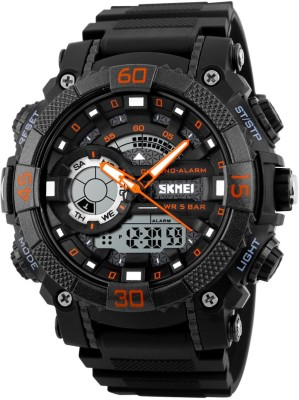 Skmei 1228-ORG Sports Analog-Digital Watch For Boys