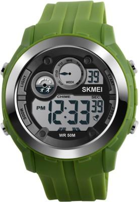 Skmei 1234-GRN Sports Digital Watch For Boys