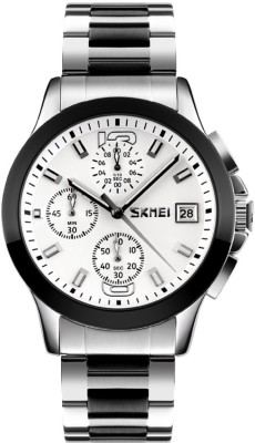 Skmei 9126-WHT Sports Analog Watch For Boys