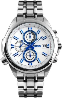 Skmei 9107-WHT Sports Analog Watch For Boys
