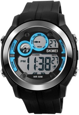 Skmei 1234-BLU Sports Digital Watch For Boys
