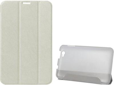 DMG Book Cover for Lenovo IdeaTab A5000(White)