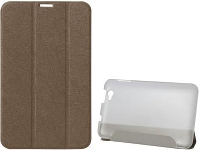 DMG Book Cover for Lenovo IdeaTab A5000(Brown)