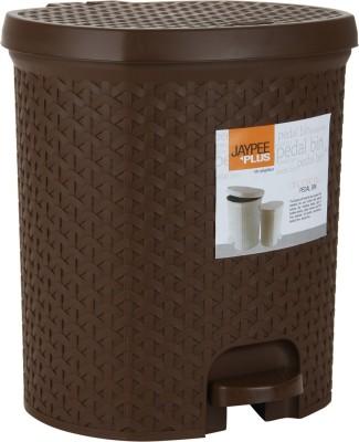 Jaypee Plus Dispose all Big Plastic Dustbin(Brown) at flipkart