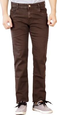 Par Excellence Regular Men's Brown Jeans