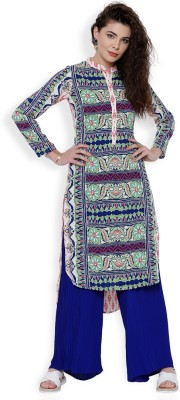 Vishudh Festive   Party Printed Women's Kurti