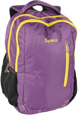 Space 15.6 inch Laptop Backpack(Purple)