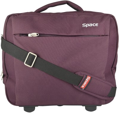Space 15.6 inch Trolley Laptop Strolley Bag(Purple)