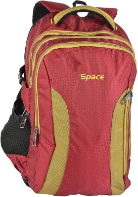 Space 15.6 inch Laptop Backpack(Red)