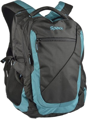 Space 15.6 inch Laptop Backpack(Black)