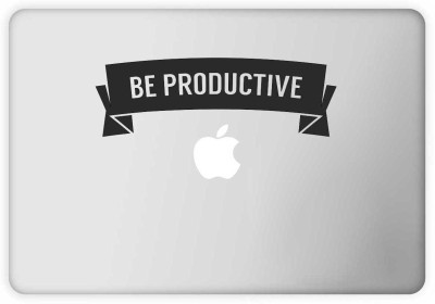 Rawpockets Be Productive Vinyl Laptop Decal 15.1