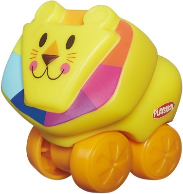 Playskool Mini Wheel Pals Lion(Multicolor)