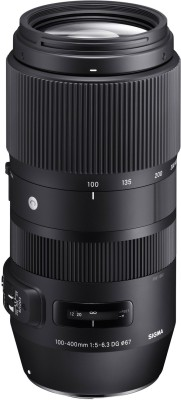 Sigma 100-400mm F5-6.3 DG OS HSM Contemporary lens for Canon DSLR Cameras  Lens(Black, 100-400) at flipkart
