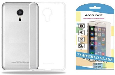 AEON CASE Cover Accessory Combo for ONEPLUS 5 Transparent