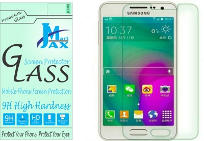 Jax Mart Tempered Glass Guard for Samsung A3(Pack of 1)