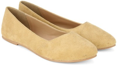 Carlton London Miss CL Bellies(Beige) at flipkart