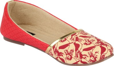 Hepburnette Bellies(Beige) at flipkart