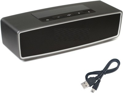 Jiyanshi Apple Portable Bluetooth Mobile/Tablet Speaker(Black, Stereo Channel)