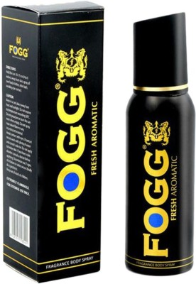 Fogg Black Collection Fresh Aromatic Body Spray for Men - 120 ml