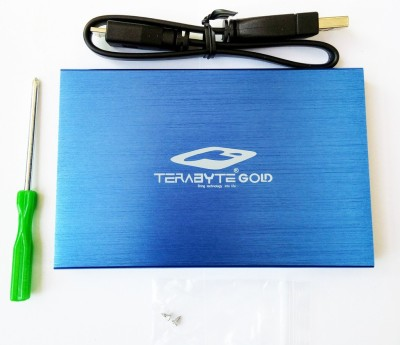 Terabyte USB 3.0 Hard Drive Casing 2.5 inch Internal HDD Enclosure(For 2.5 Inch Sata Hard Drive, Blue)
