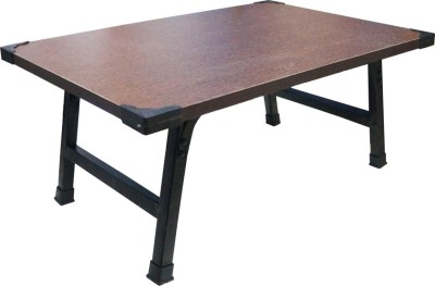 Muren Engineered Wood Study Table(Free Standing, Finish Color - Brown)