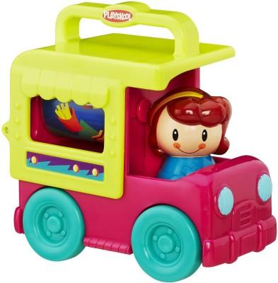 Playskool Fold N Roll Ice Cream Truck(Multicolor)