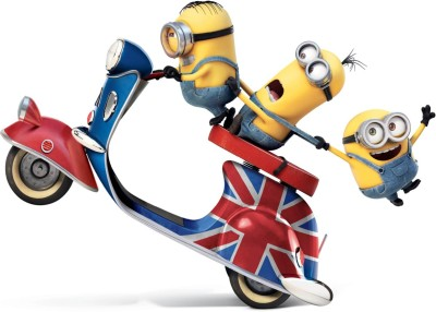 [MY HOME]funny minions Poster(POSTER SIZE 30cm X 45cm) Paper Print(18 inch X 12 inch, Rolled)  available at flipkart for Rs.140