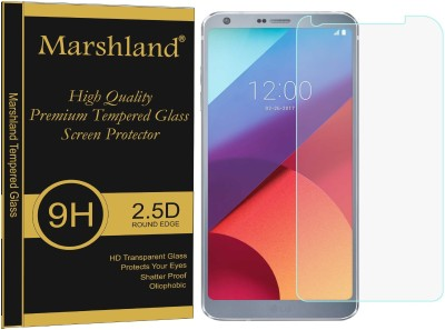 Marshland Tempered Glass Guard for LG G6, Bubble-Free 9H Hardness Shatter Proof 0.33mm Thickness Anti Explosion(Pack of 1)